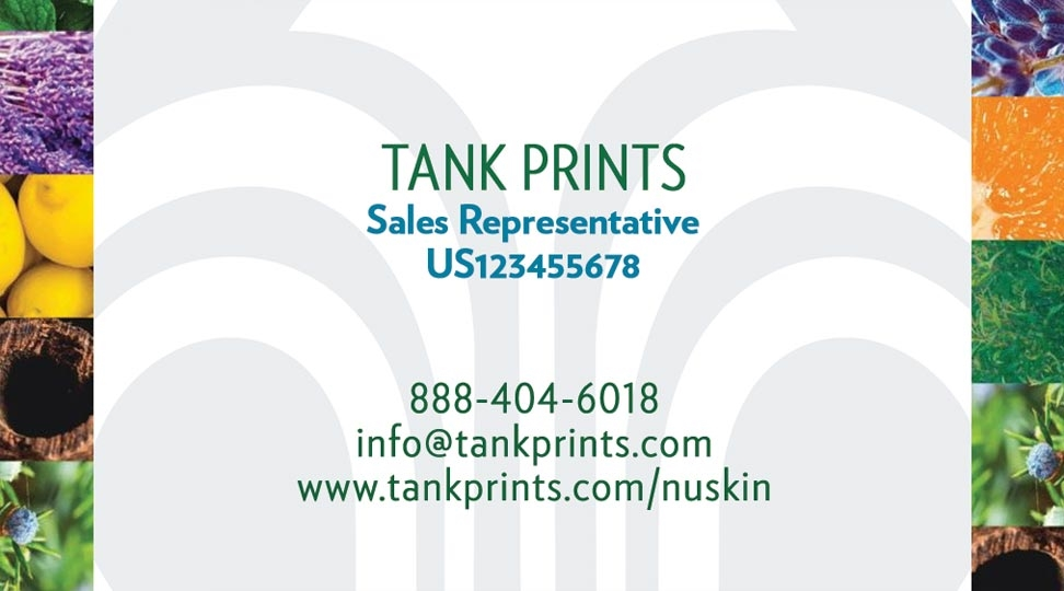 Nu Skin Business Card Design 5