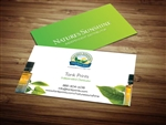 Natures Sunshine business cards 3
