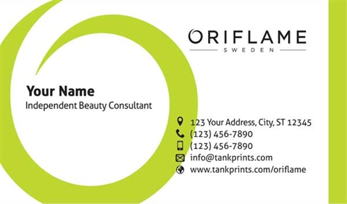 Oriflame Business Card Design 2