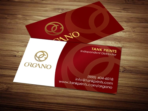 Organo Gold Business Card 1