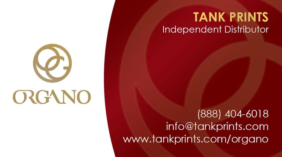 Organo gold card design 1 reheart Choice Image
