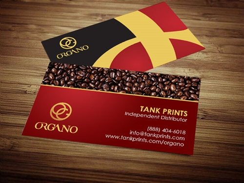 Organo Gold Business Card 2