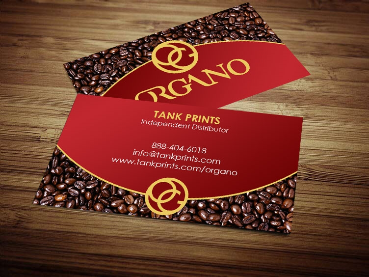 Organo gold card design 3 colourmoves