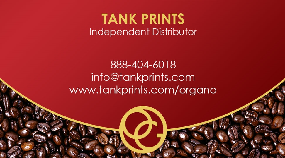 Organo gold card design 3 reheart Image collections