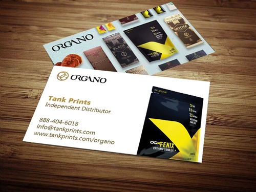 Organo Gold Business Card 4