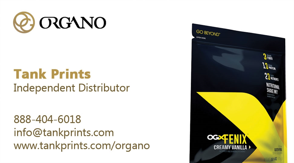 Organo gold card design 4 colourmoves