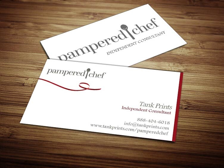 pampered chef business cards 1