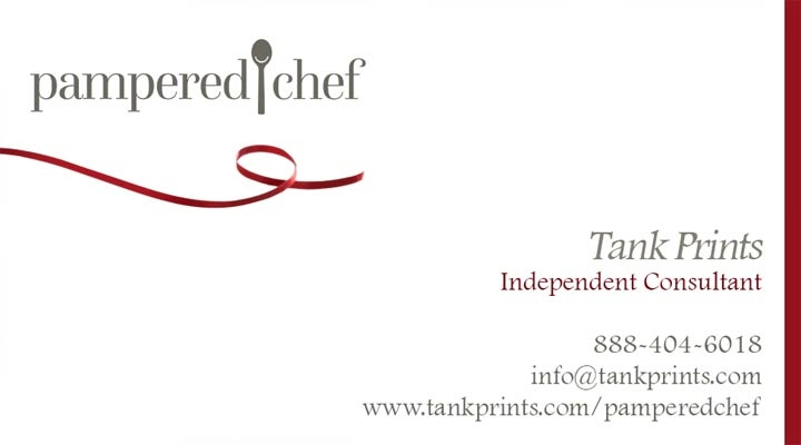 Pampered Chef Business Card Design 1