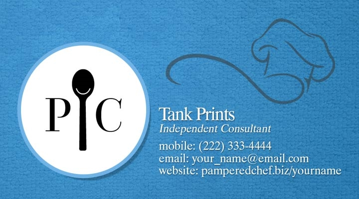 Pampered Chef Business Card Design 2