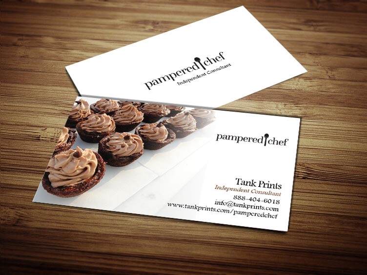 Pampered chef business card design 3 colourmoves