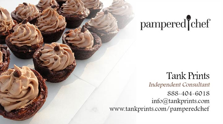 Pampered Chef Business Card Design 3
