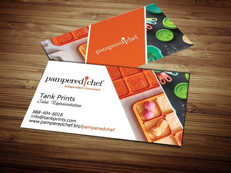 pampered chef business cards 5