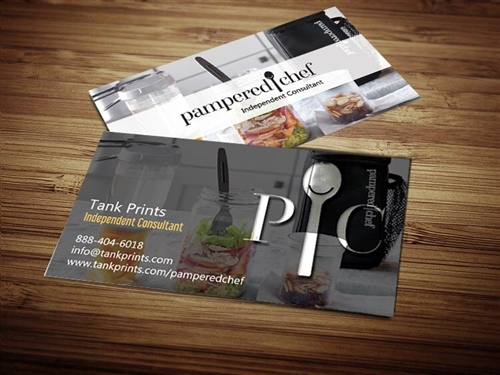 pampered chef business cards 6