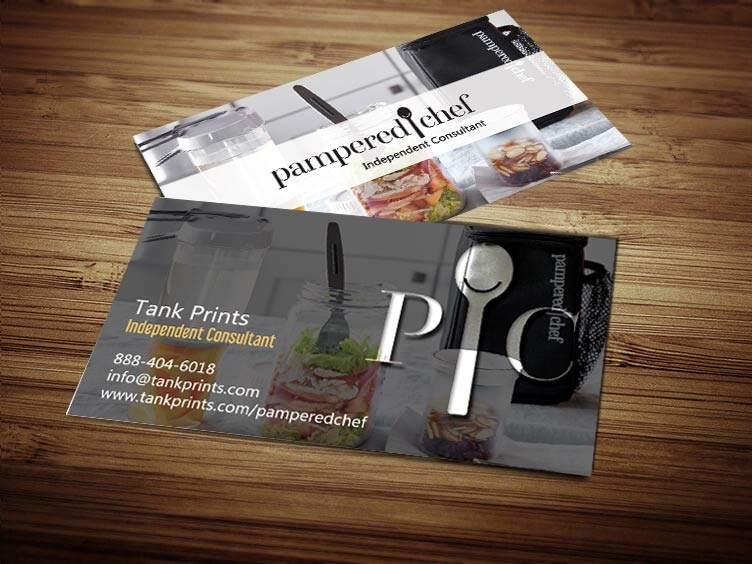 Pampered chef business card design 6 colourmoves Images