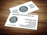 Presidential Fire Protection Business Card Design 1