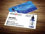 primemybody business card template 2