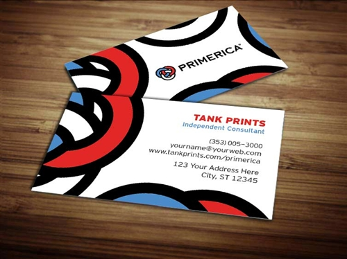 Primerica business card design 2 wajeb Choice Image