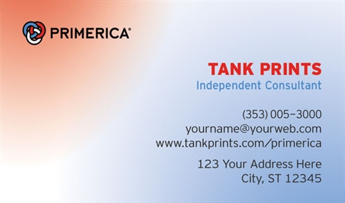 Primerica business card design 3 wajeb Choice Image