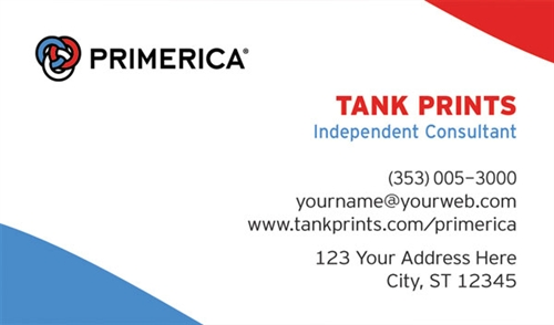 Primerica business card design 4 wajeb Choice Image