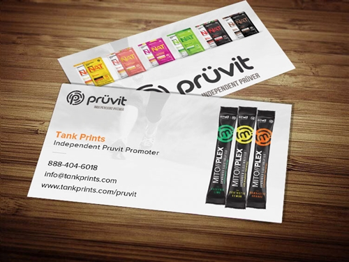 Pruvit Business Card Design 2