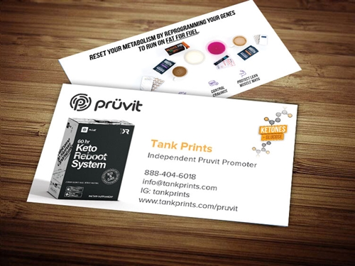 Pruvit Business Card Design 3
