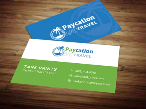 Paycation business card 1 tank prints 1 review reheart Gallery