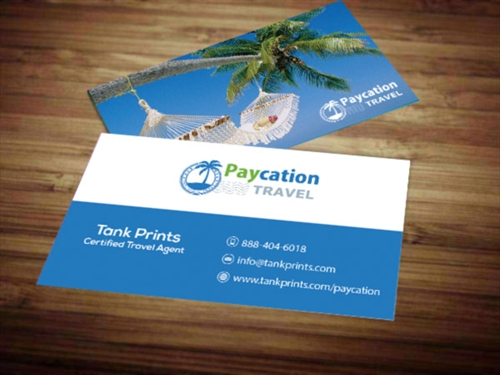 Paycation Business Card 3 - Tank Prints