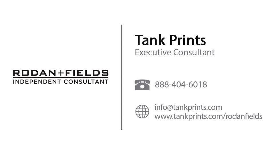Rodan Fields Business Card Design 1