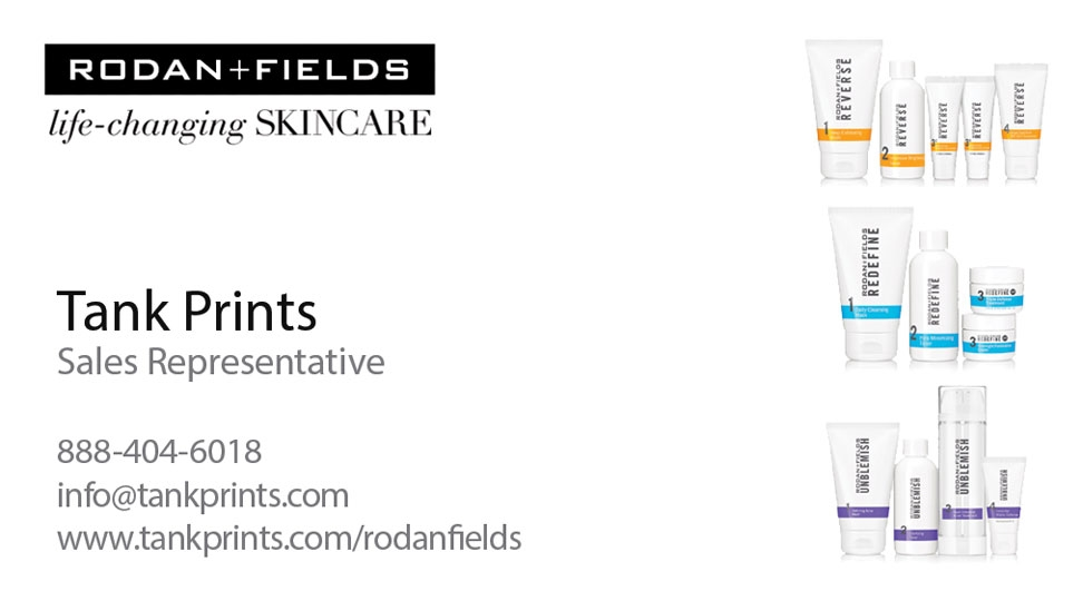 Rodan Fields Business Card Design 3
