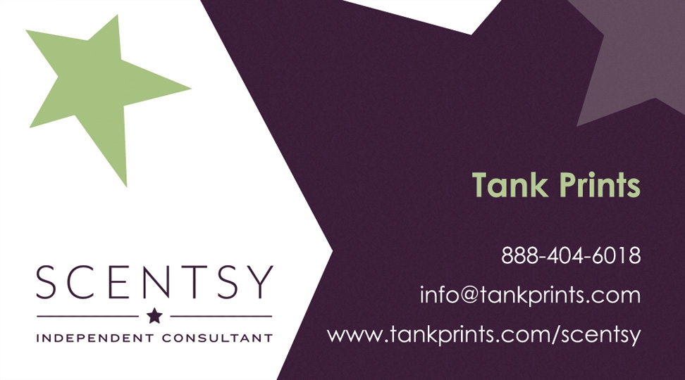 Scentsy Business Card Design 2