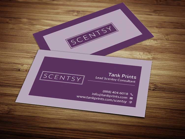 Scentsy business card design 3 colourmoves