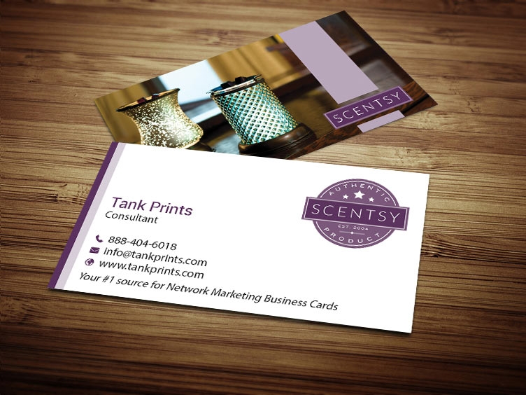 Scentsy business card design 4 colourmoves