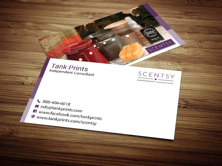 Scentsy business card design 5 colourmoves