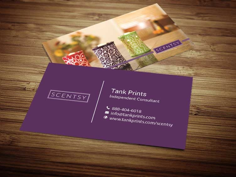 Scentsy business card design 6 colourmoves