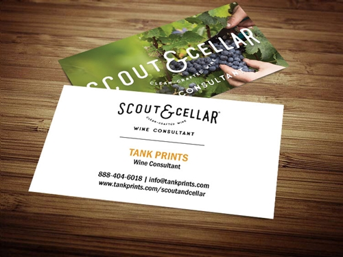 scout and cellar business cards