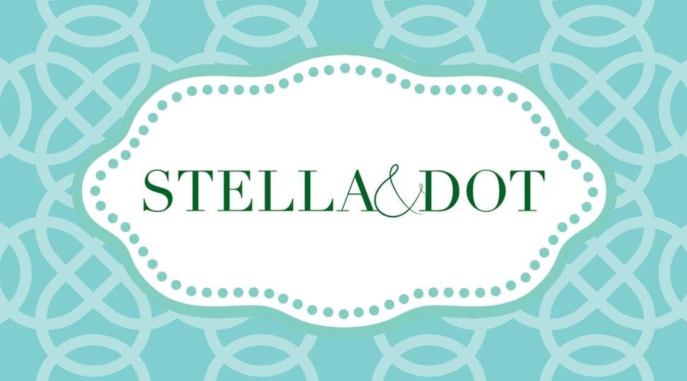 stella and dot business card design 1