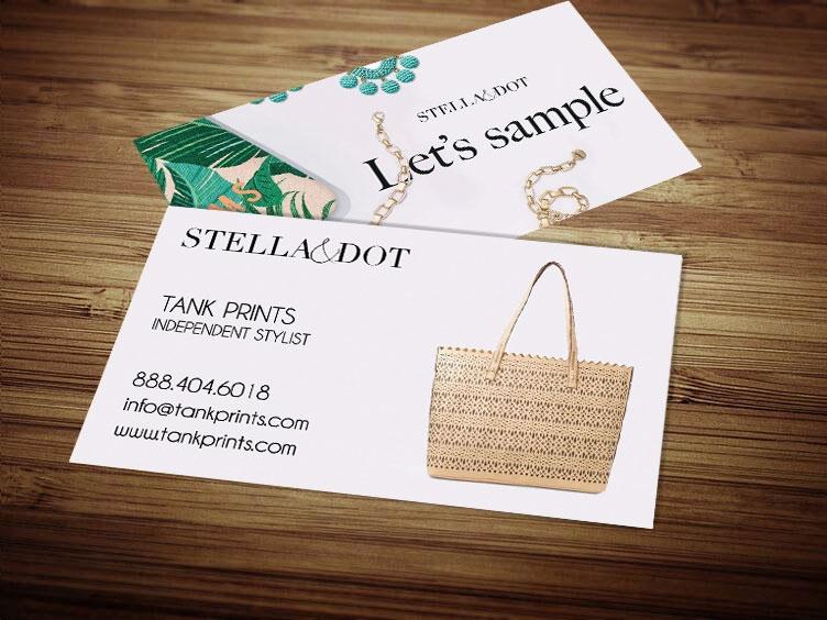 Stella and dot business card design 4 colourmoves