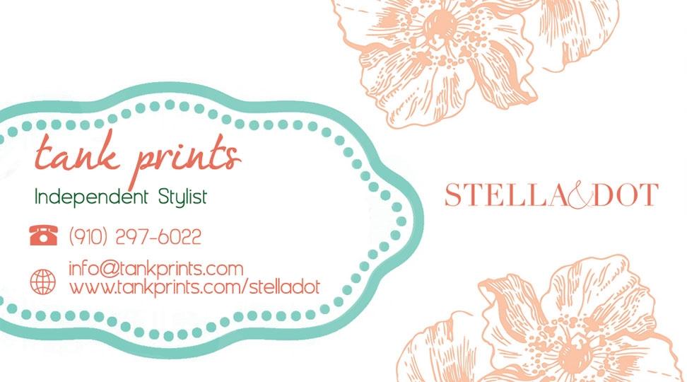 Stella and dot business card design 6 colourmoves