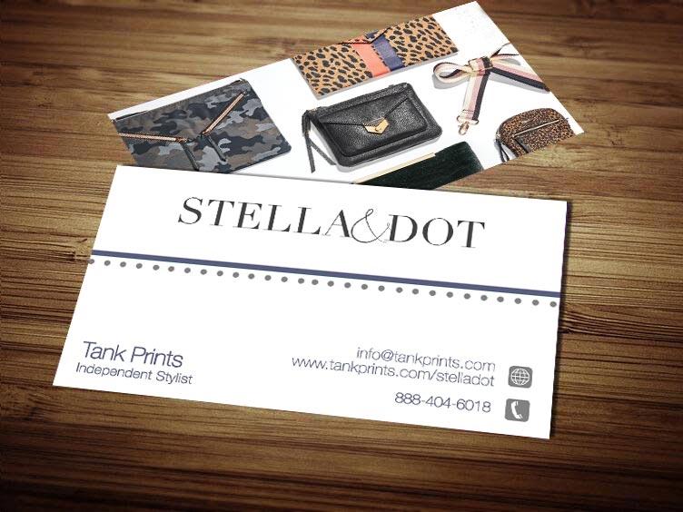 Stella and dot business card design 7 colourmoves