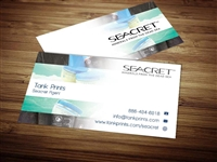 Seacret Business Cards