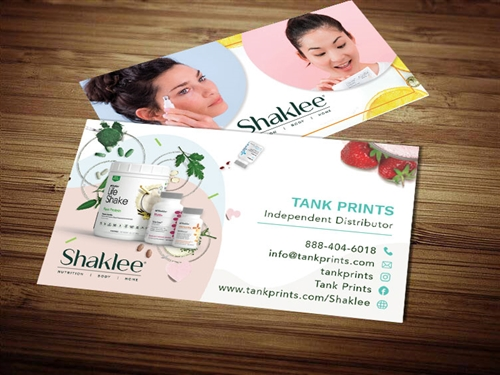 Shaklee 180 business card template 3