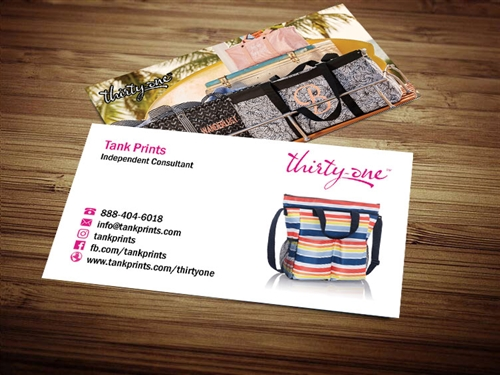 Thirty One business card templates