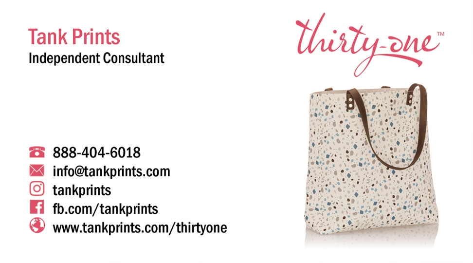 Thirty-One Business Card Design 2
