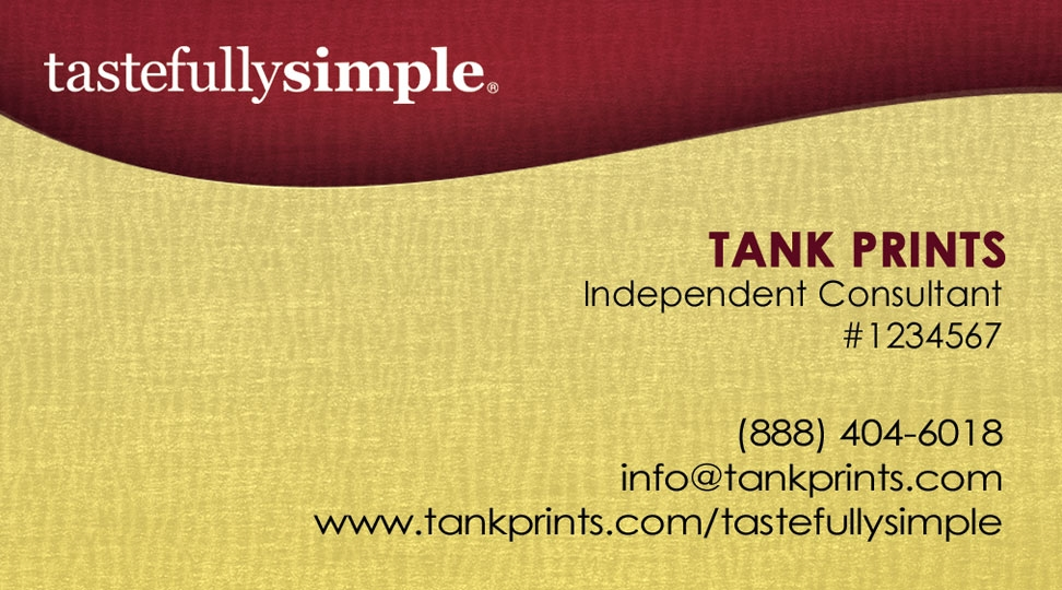 tastefully simple business card design 2 - Simple Business Cards