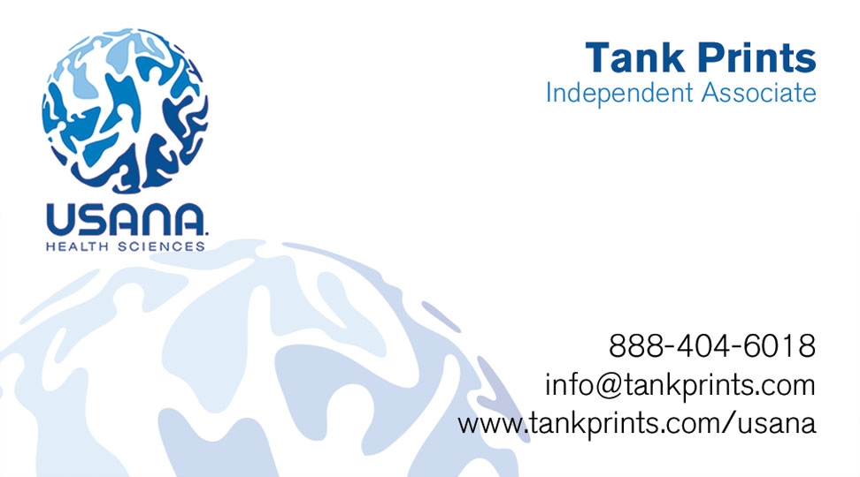 USANA Business Card Design 1