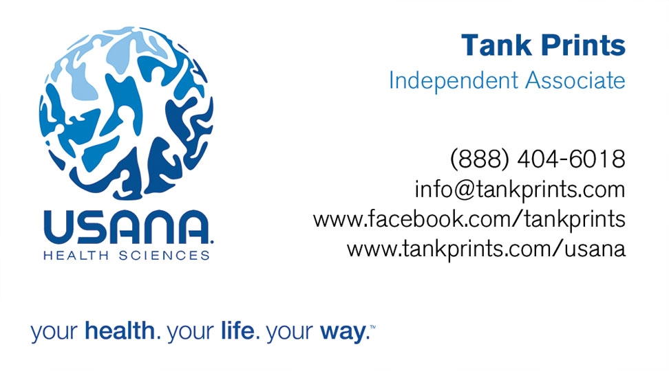 Usana Business Card Design 2