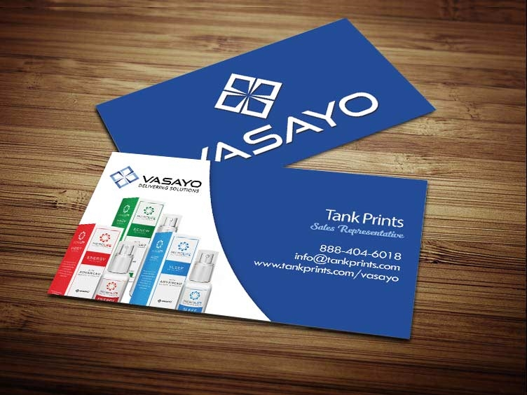 Vasayo Business Cards Tank Prints