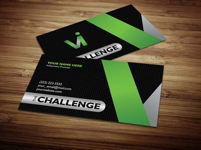 Visalus business card design 1 colourmoves