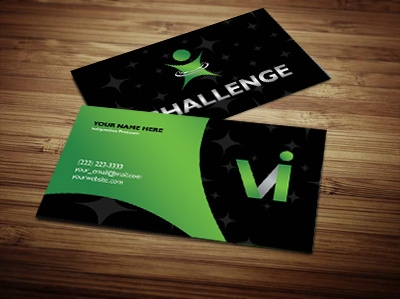 Visalus business card design 2 colourmoves