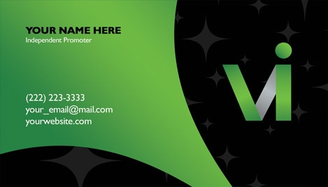 Visalus business card design 2 reheart Choice Image